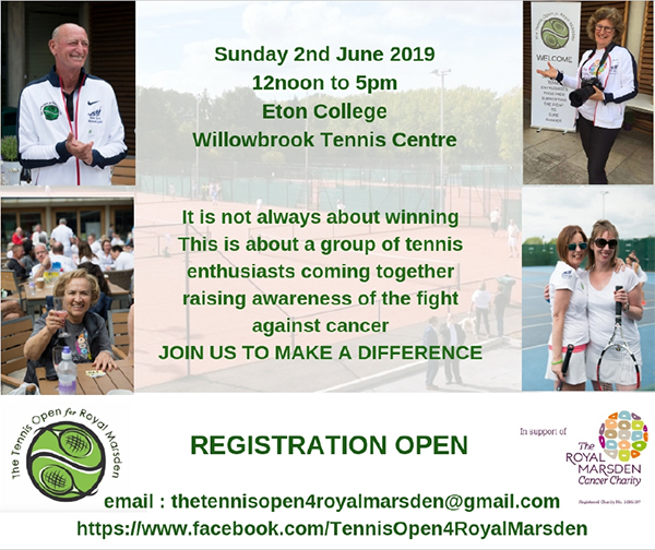 Royal Marsden Charity Tennis Day